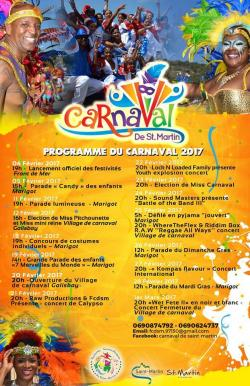 saint-martin carnival february 4th to march 1st, 2017